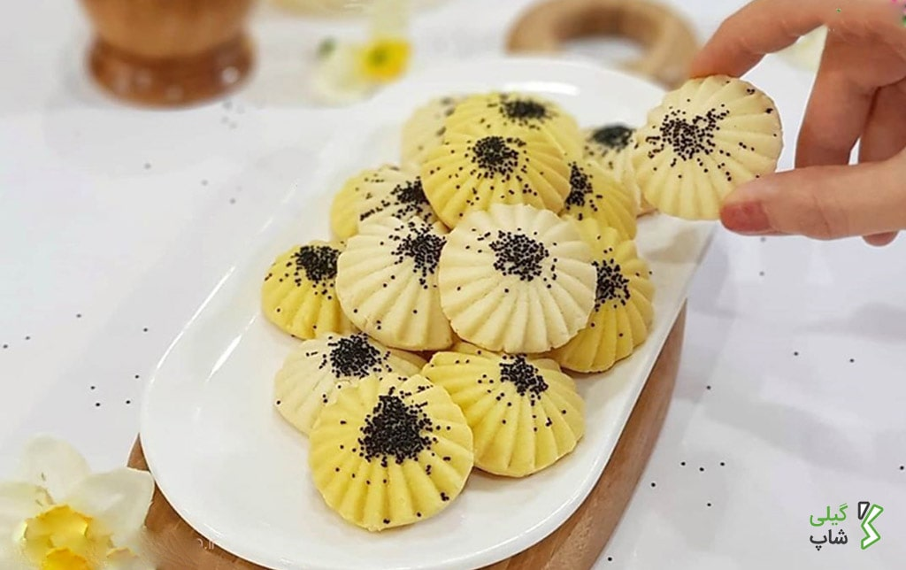 طرز تهیه شیرینی برنجی گیلان